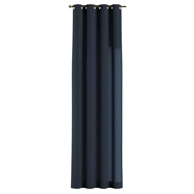 Gardin med öljetter 1 längd i kollektionen Quadro II, Tyg: 136-04