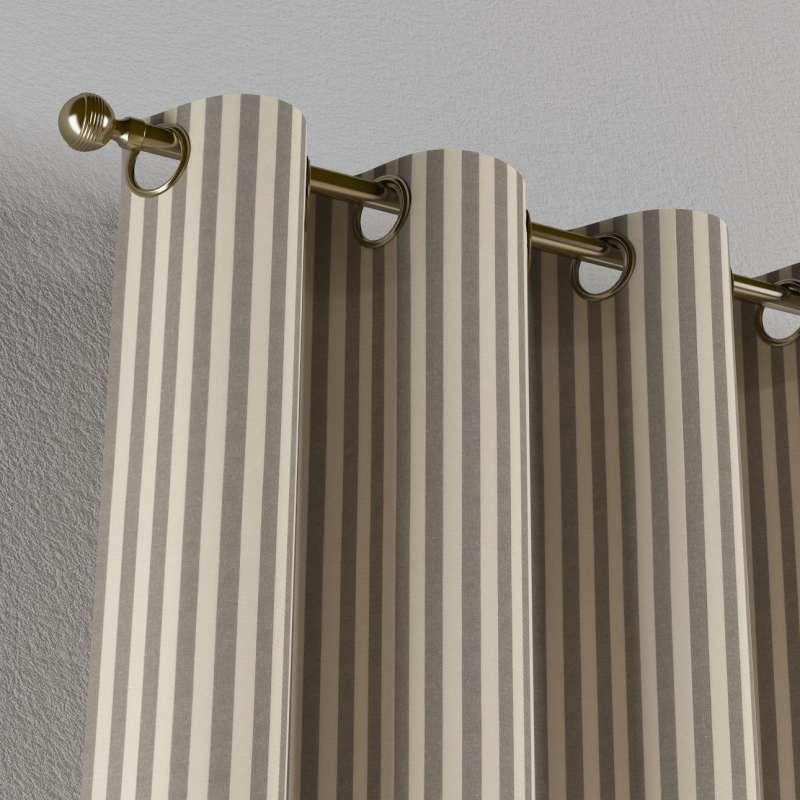 Gardin med øskner 1 stk. fra kollektionen Quadro II, Stof: 136-12