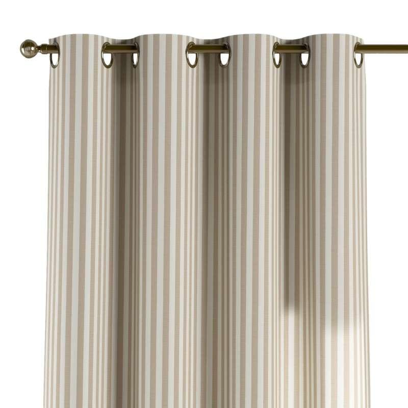 Gardin med øskner 1 stk. fra kollektionen Quadro II, Stof: 136-07