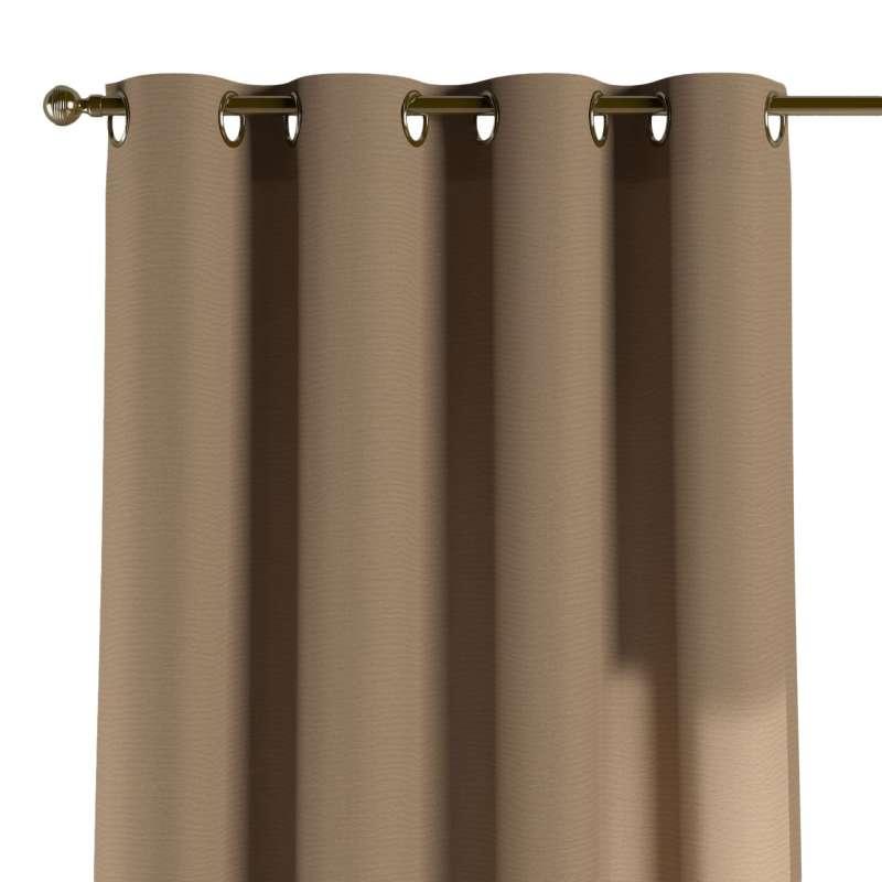 Gardin med öljetter 1 längd i kollektionen Quadro II, Tyg: 136-09