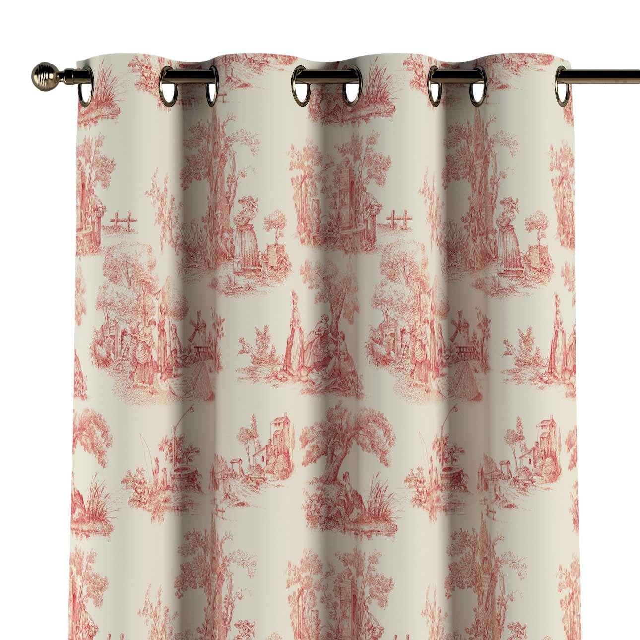 Zasłona na kółkach 1 szt. 1szt 130x260 cm w kolekcji Avinon, tkanina: 132-15