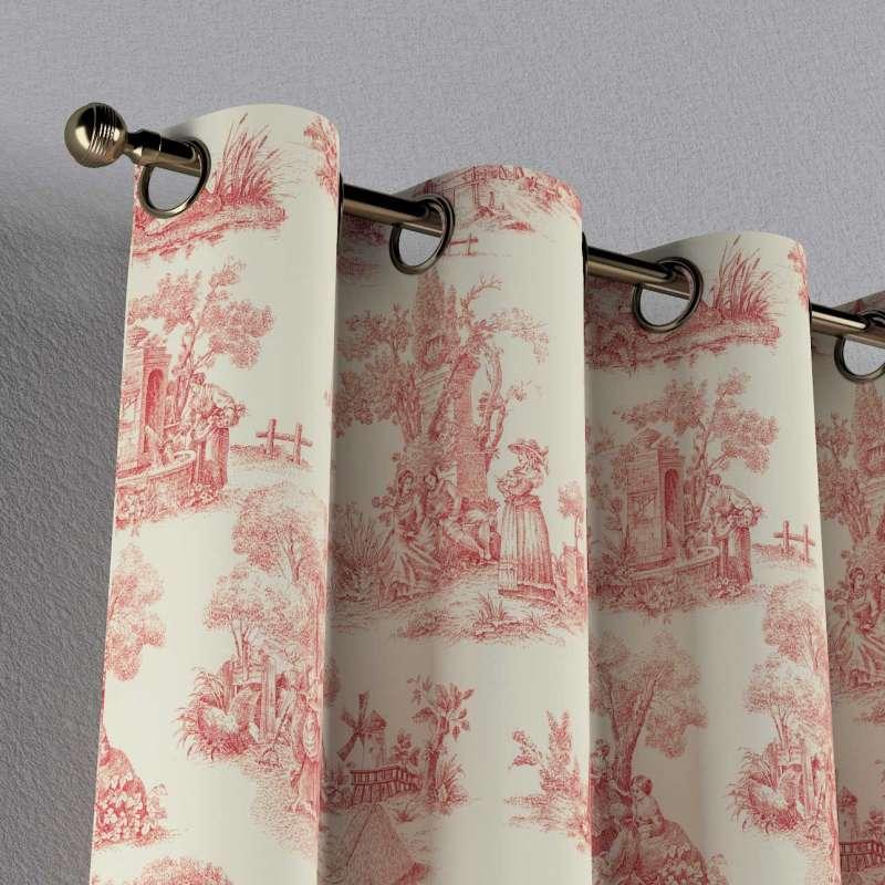 Eyelet curtain in collection Avinon, fabric: 132-15