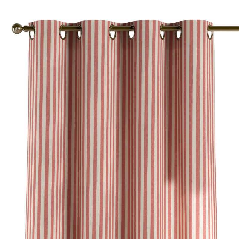 Gardin med öljetter 1 längd i kollektionen Quadro II, Tyg: 136-17