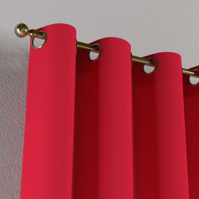 Gardin med öljetter 1 längd i kollektionen Quadro II, Tyg: 136-19