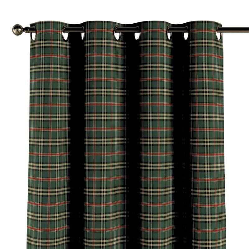 Záves s kolieskami V kolekcii Vianočná kolekcia Christmas, tkanina: 142-69