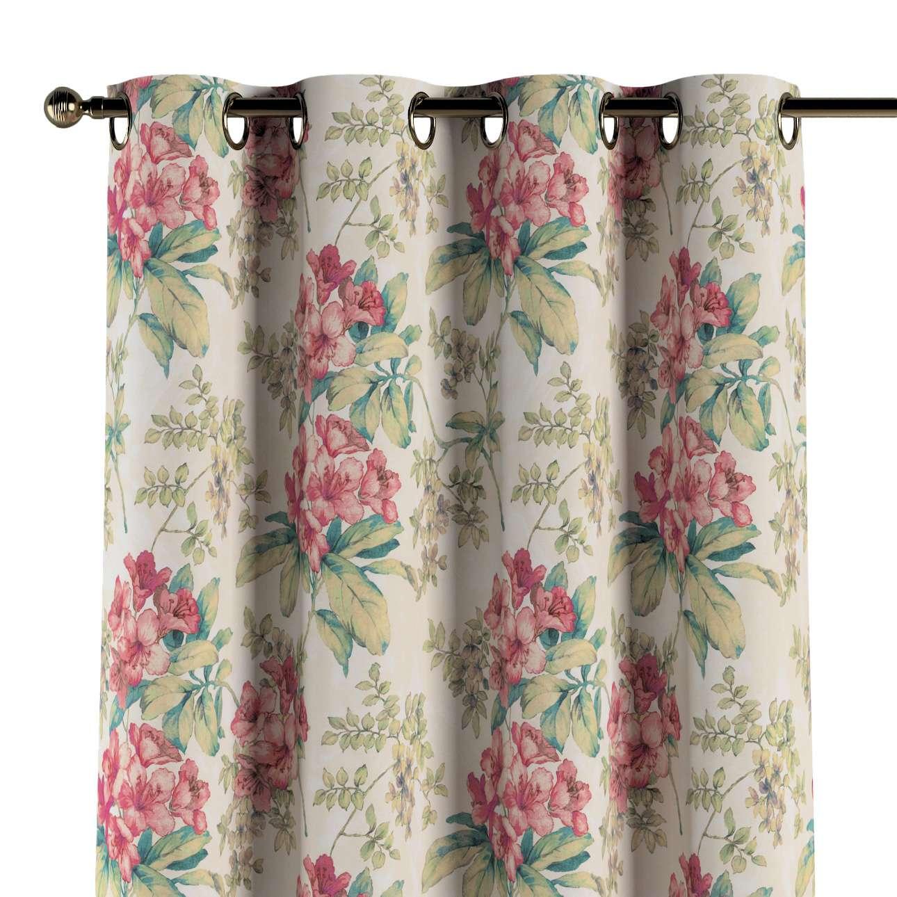 Zasłona na kółkach 1 szt. w kolekcji Londres, tkanina: 143-40