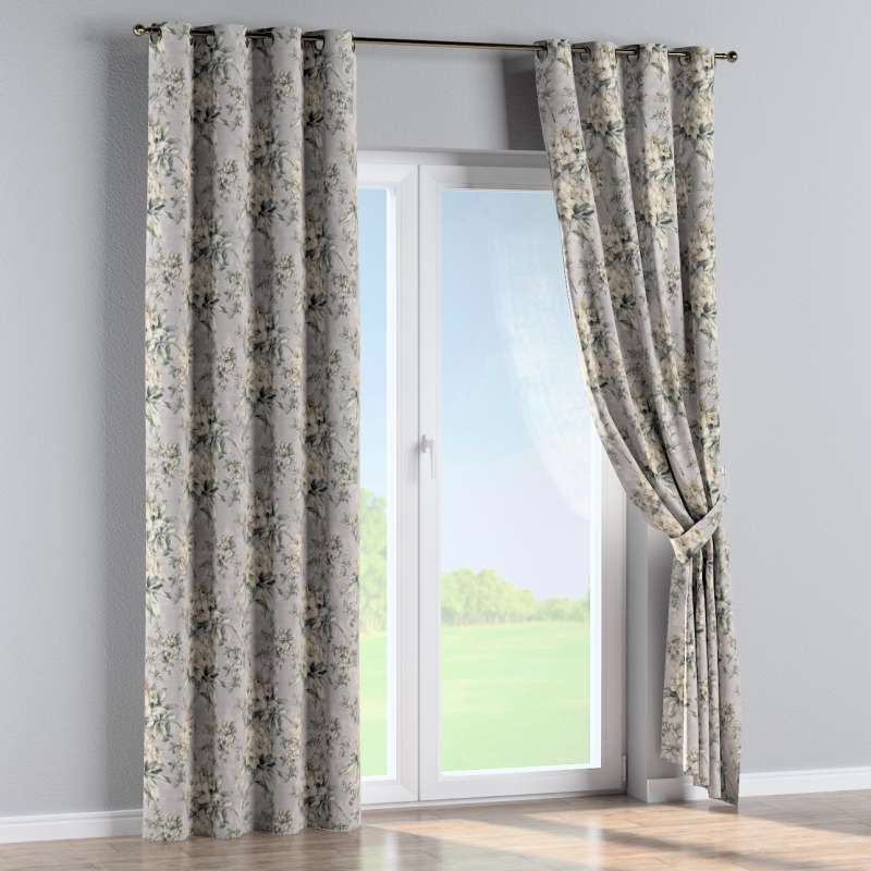 Eyelet curtain in collection Londres, fabric: 143-36