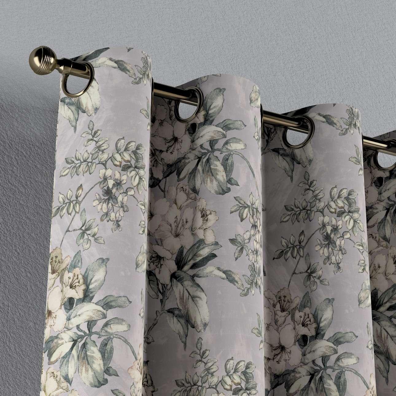 Zasłona na kółkach 1 szt. w kolekcji Londres, tkanina: 143-36
