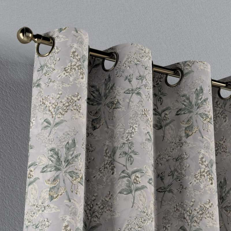 Eyelet curtain in collection Londres, fabric: 143-37