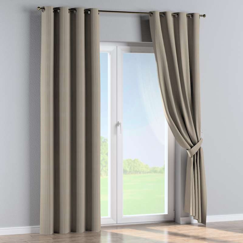 Eyelet curtain in collection Londres, fabric: 143-38