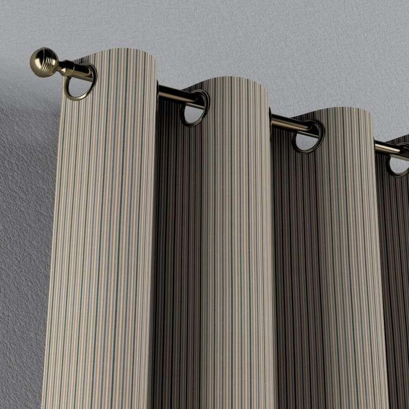 Zasłona na kółkach 1 szt. w kolekcji Londres, tkanina: 143-38