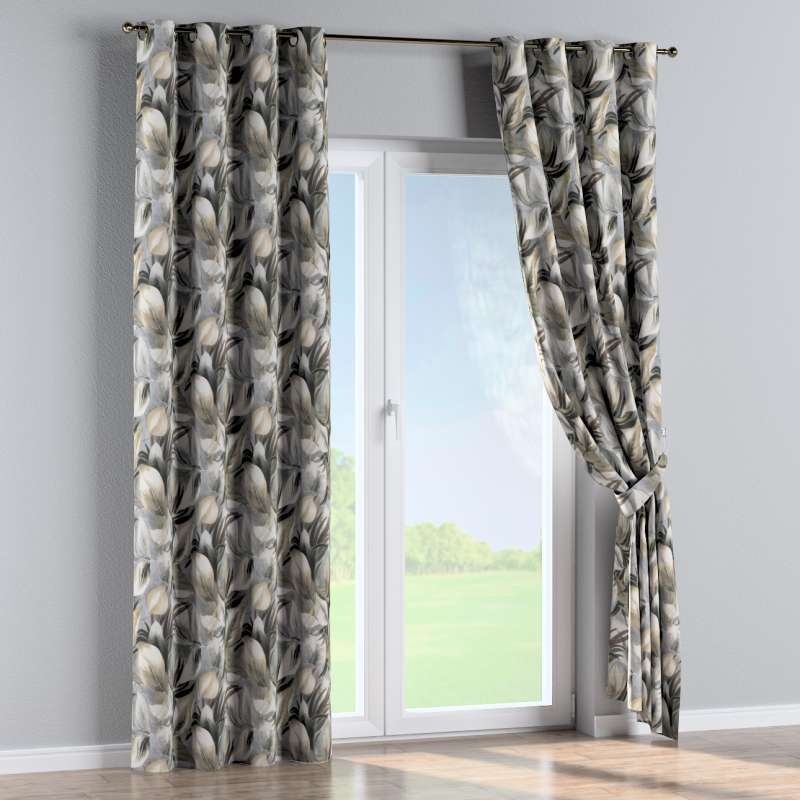 Eyelet curtain in collection Abigail, fabric: 143-60