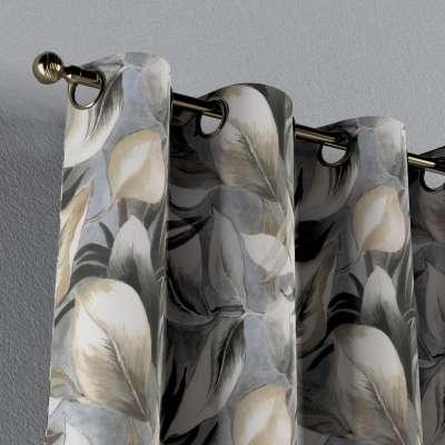 Zasłona na kółkach 1 szt. w kolekcji Abigail, tkanina: 143-60