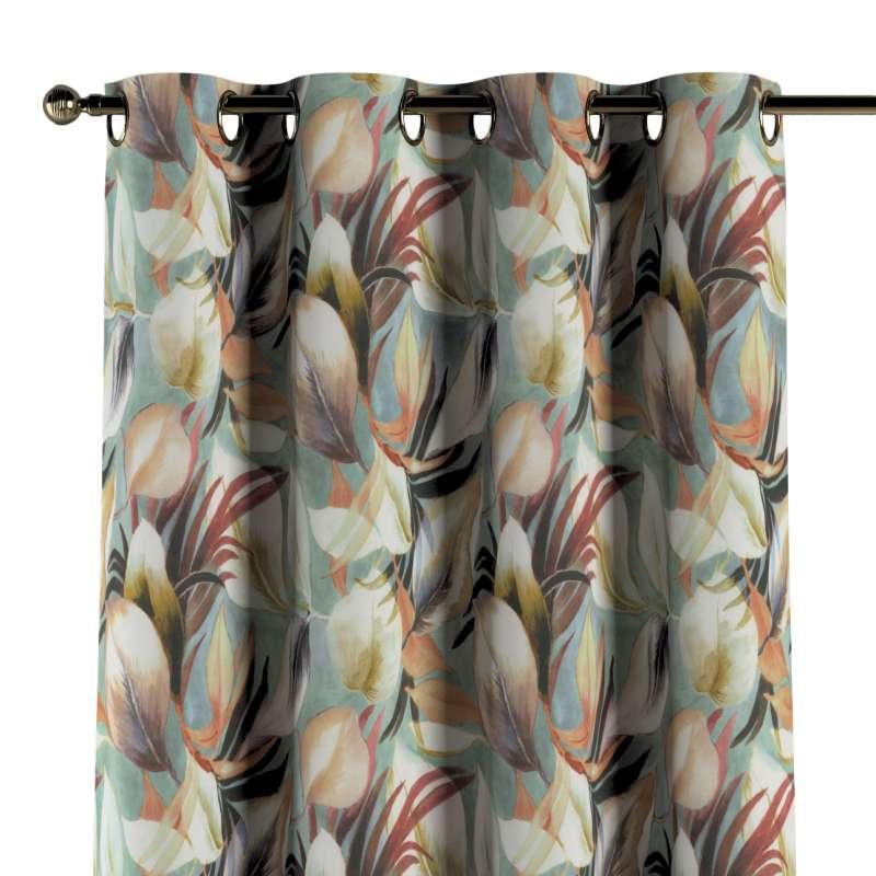 Záves s kolieskami V kolekcii Abigail, tkanina: 143-61