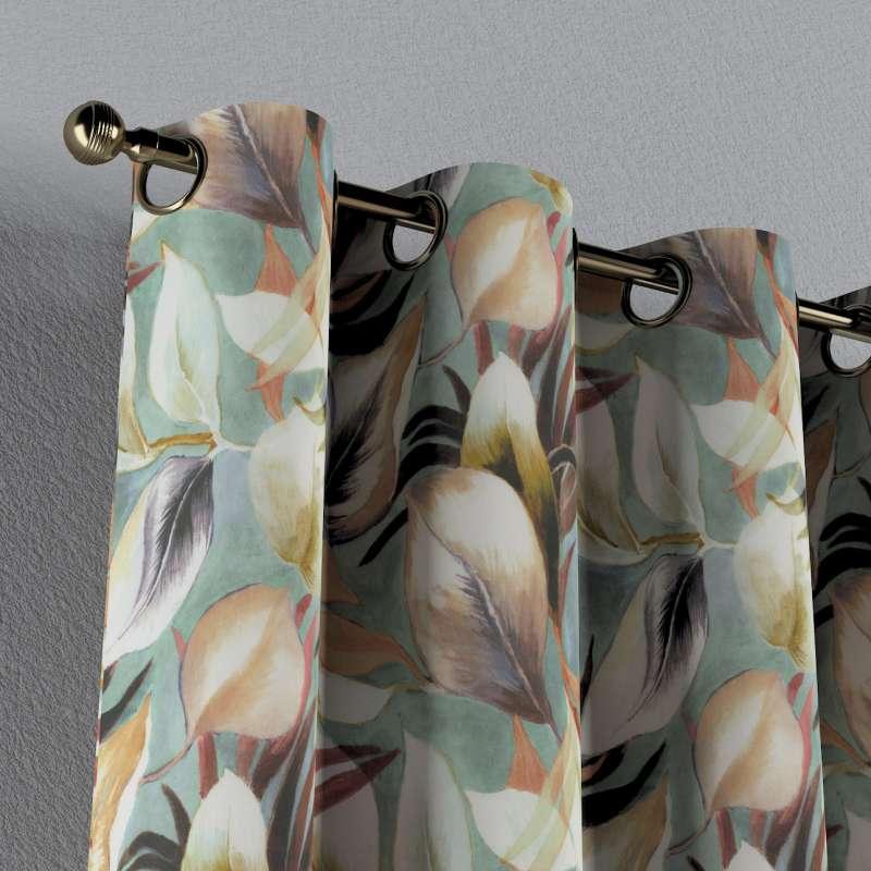 Zasłona na kółkach 1 szt. w kolekcji Abigail, tkanina: 143-61