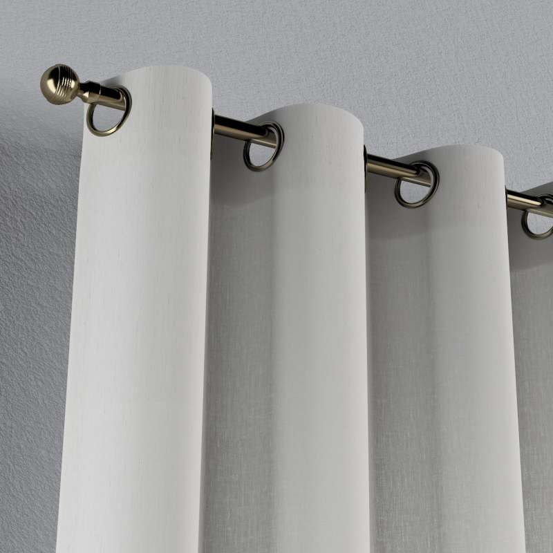 Eyelet curtain in collection Linen, fabric: 159-06