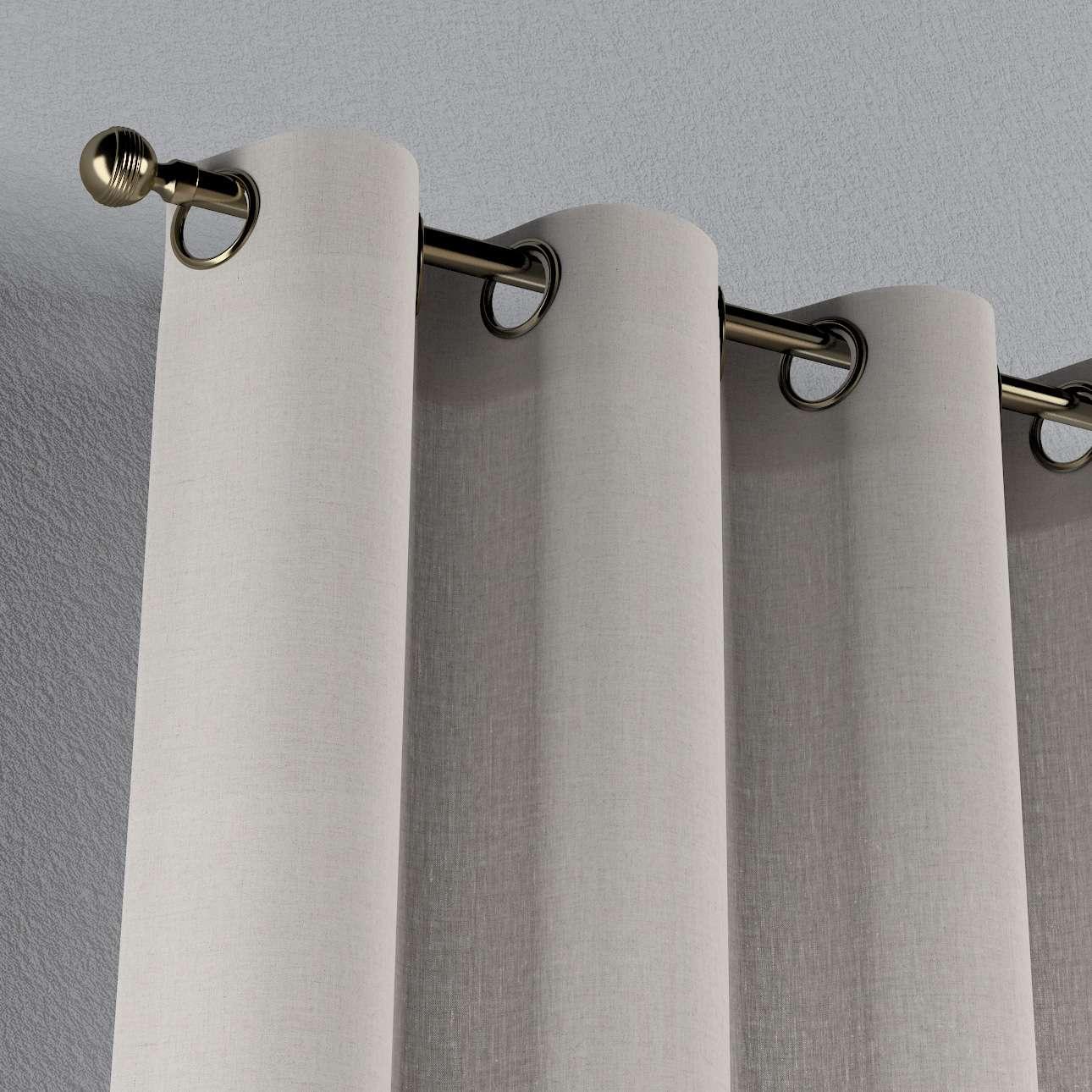 Záves s kolieskami V kolekcii Linen, tkanina: 159-07