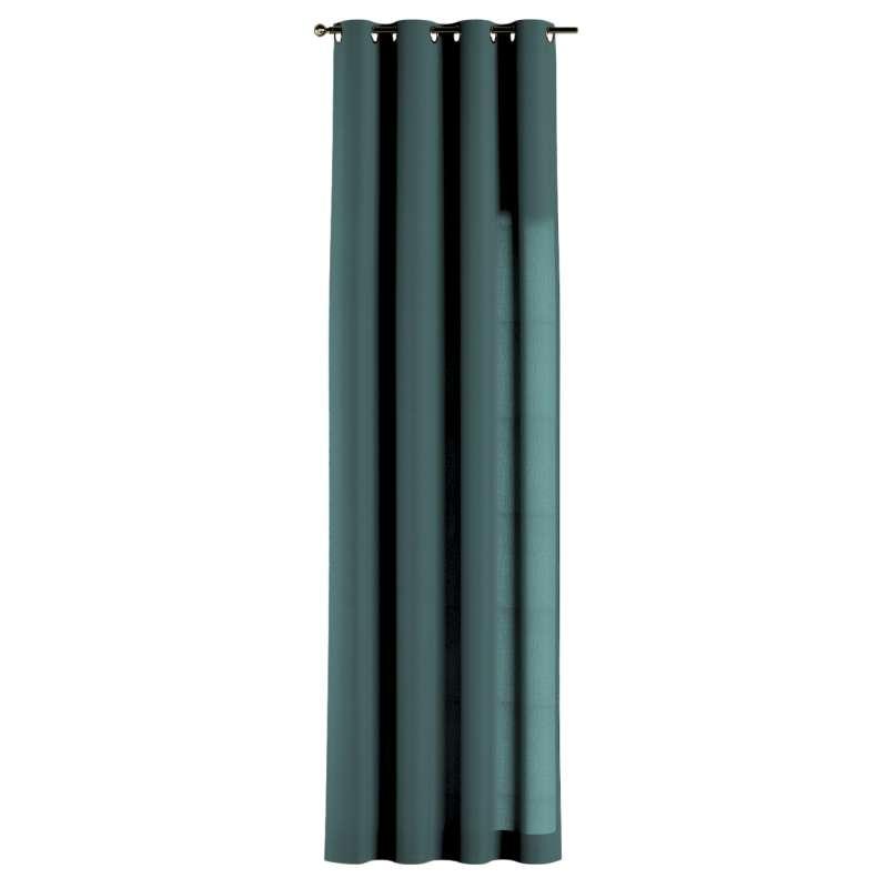 Gardin med öljetter 1 längd i kollektionen Linne, Tyg: 159-09