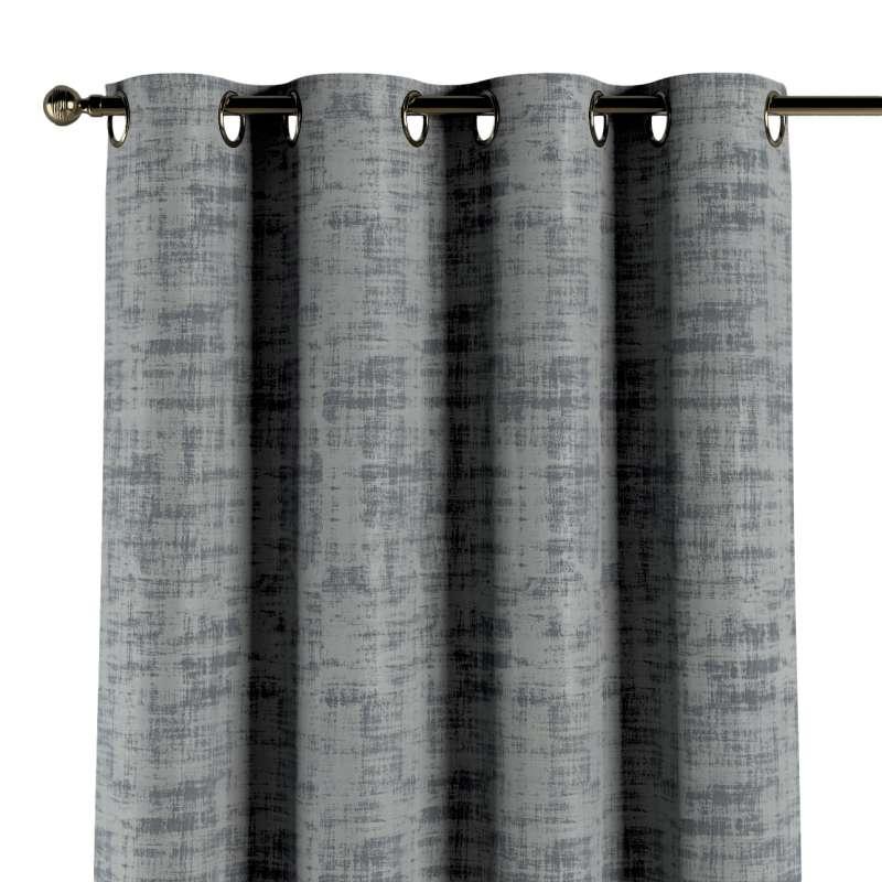 Gardin med öljetter 1 längd i kollektionen Velvet, Tyg: 704-32