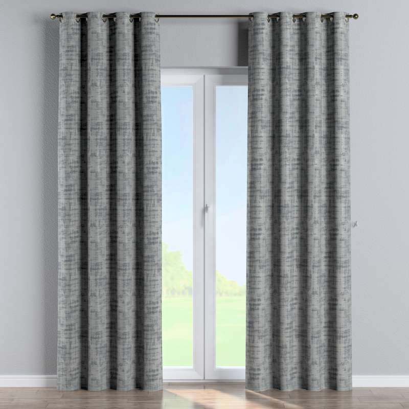 Eyelet curtain in collection Velvet, fabric: 704-32