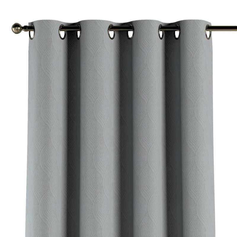 Gardin med øskner 1 stk. fra kollektionen Blackout mørklægning, Stof: 269-19
