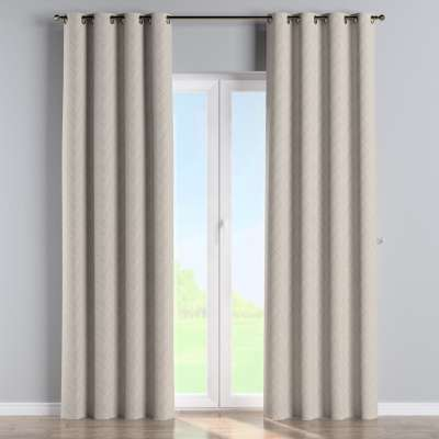 Eyelet curtain 143-44 beige-cream Collection Sunny