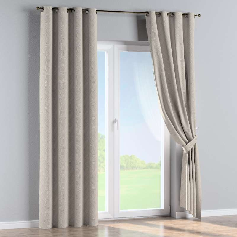 Eyelet curtain in collection Sunny, fabric: 143-44