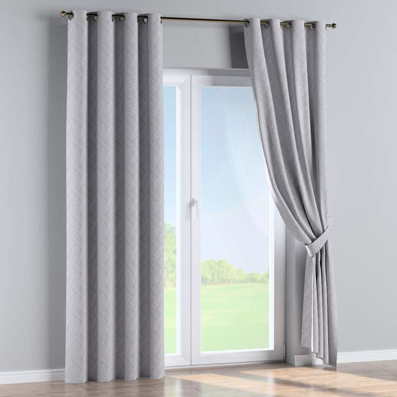 Eyelet curtain in collection Sunny, fabric: 143-45