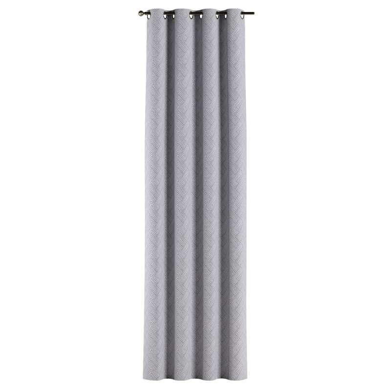 Gardin med öljetter 1 längd i kollektionen Sunny, Tyg: 143-45