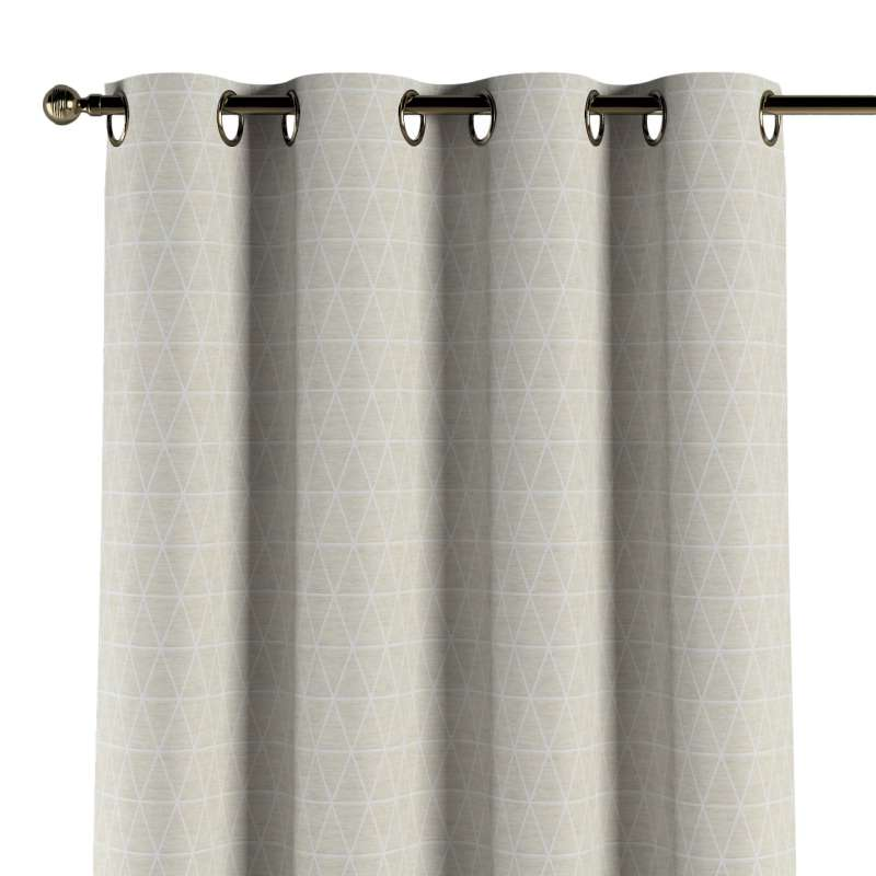 Eyelet curtain in collection Sunny, fabric: 143-49