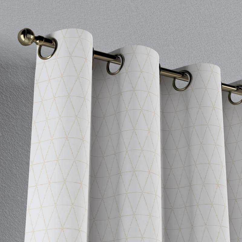 Eyelet curtain in collection Sunny, fabric: 143-94