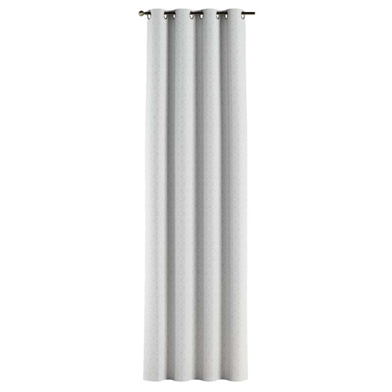 Gardin med öljetter 1 längd i kollektionen Sunny, Tyg: 143-51