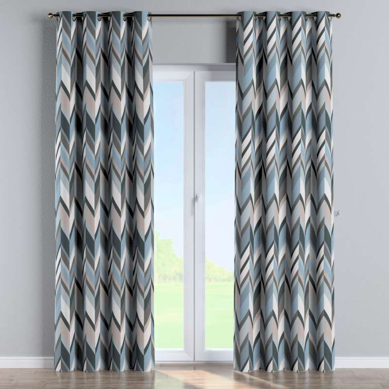 Eyelet curtain in collection Vintage 70's, fabric: 143-54