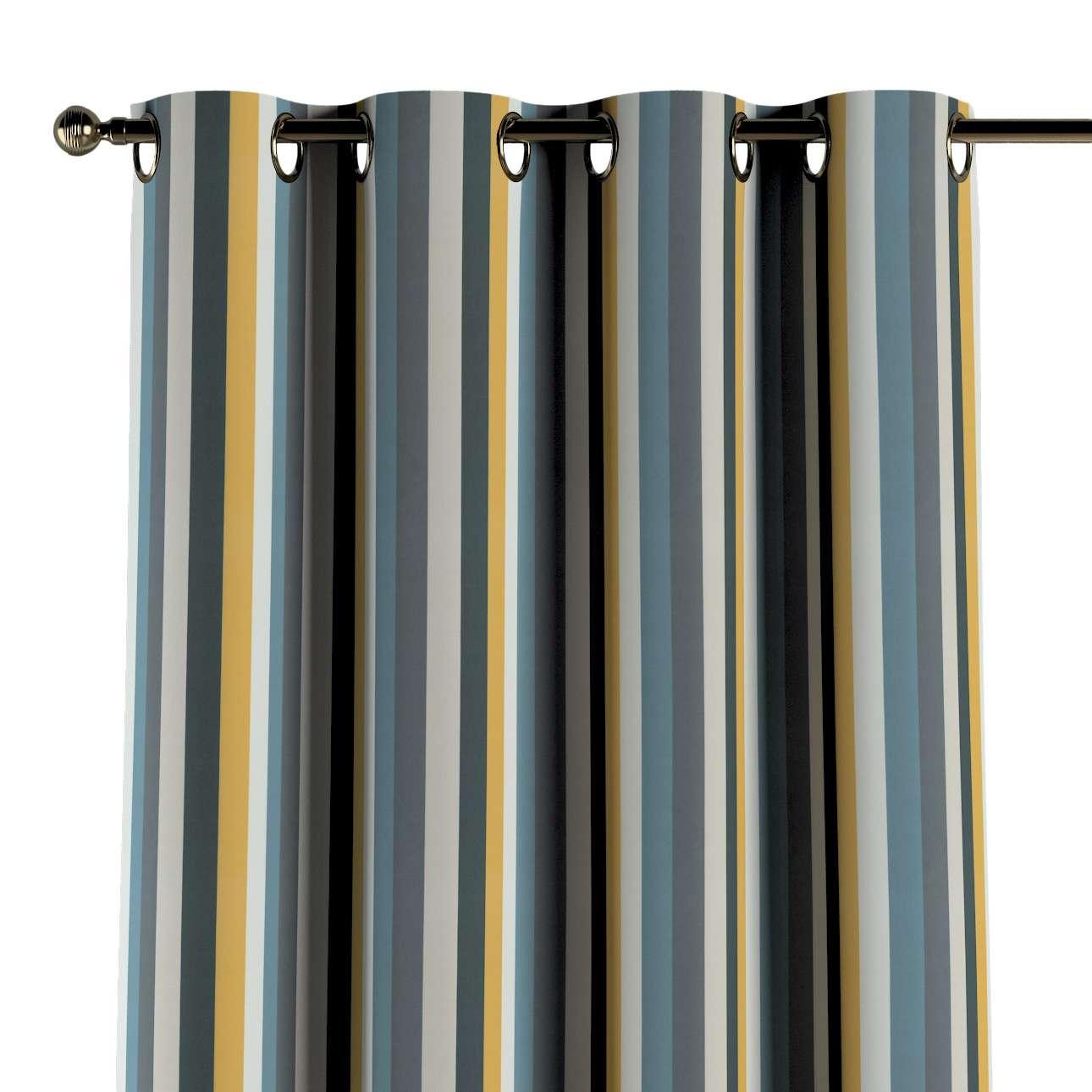 Záves s kolieskami V kolekcii Vintage 70's, tkanina: 143-59