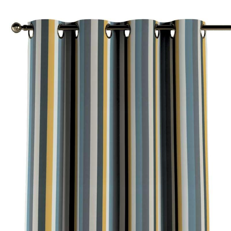 Gardin med maljer 1 stk. fra kolleksjonen Vintage 70's, Stoffets bredde: 143-59