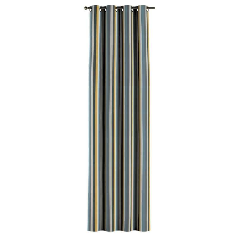 Gardin med øskner 1 stk. fra kollektionen Vintage 70's, Stof: 143-59