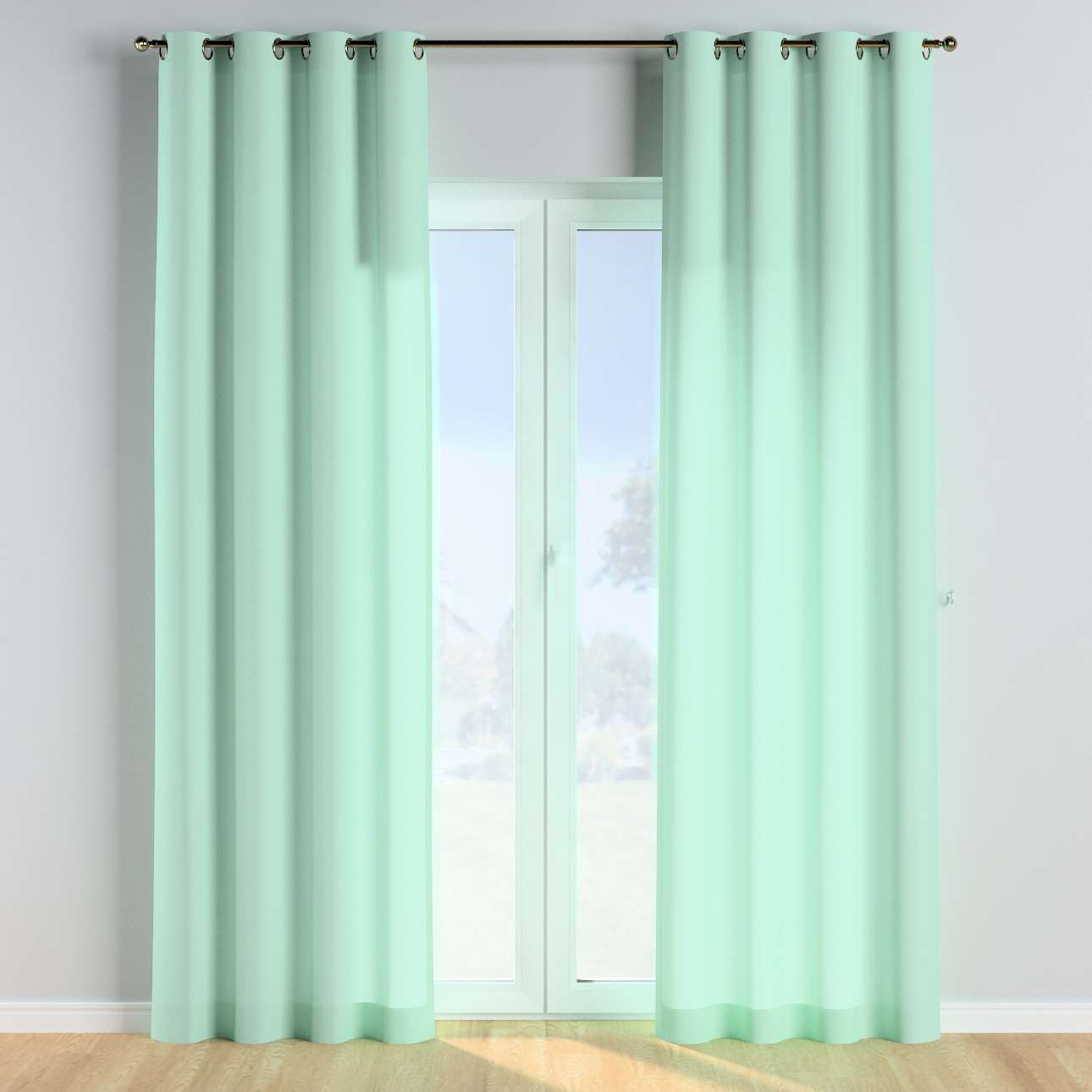 Eyelet curtains in collection Happiness, fabric: 133-37