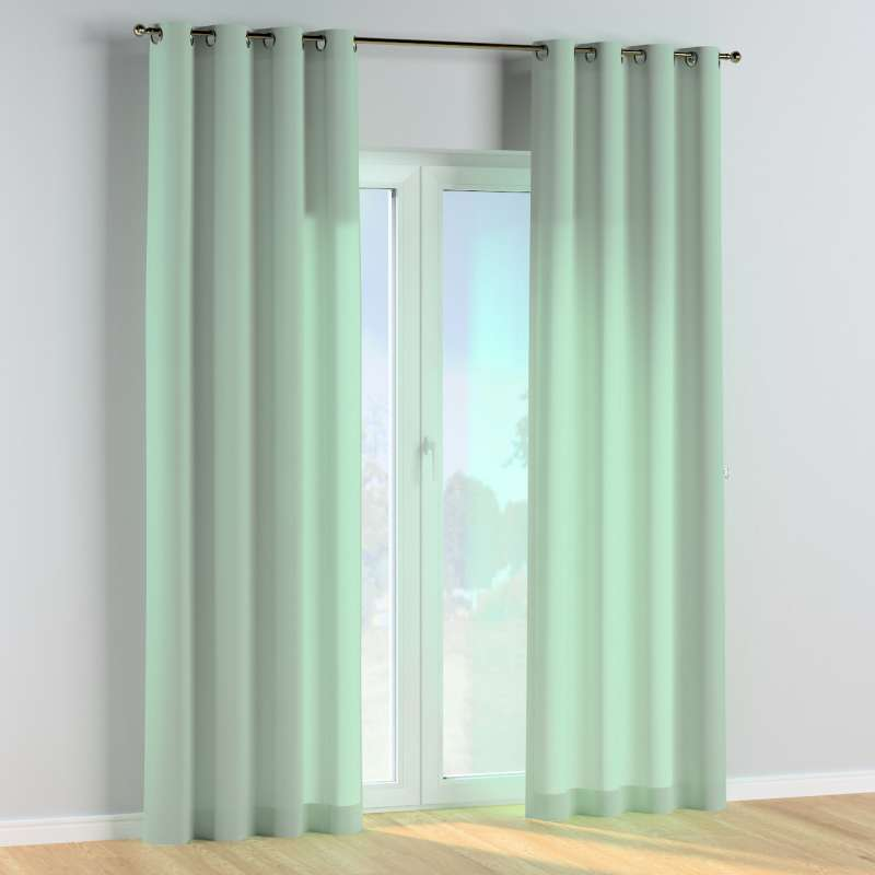 Eyelet curtains in collection Happiness, fabric: 133-61