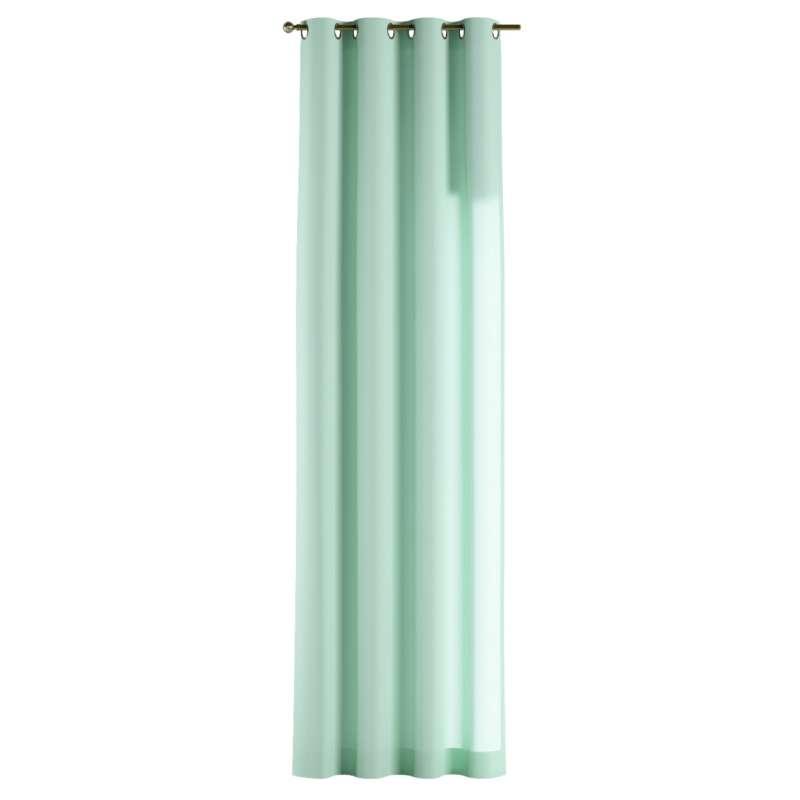 Gardin med öljetter 1 längd i kollektionen Loneta, Tyg: 133-37