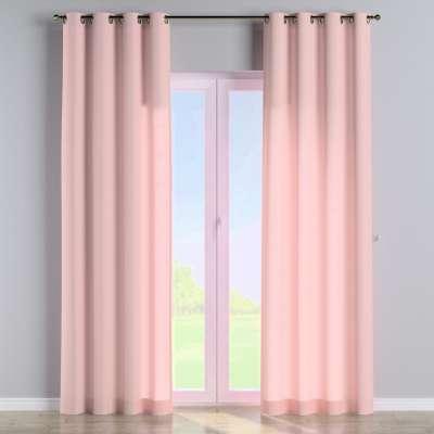 Eyelet curtain 133-39 powder pink Collection Loneta