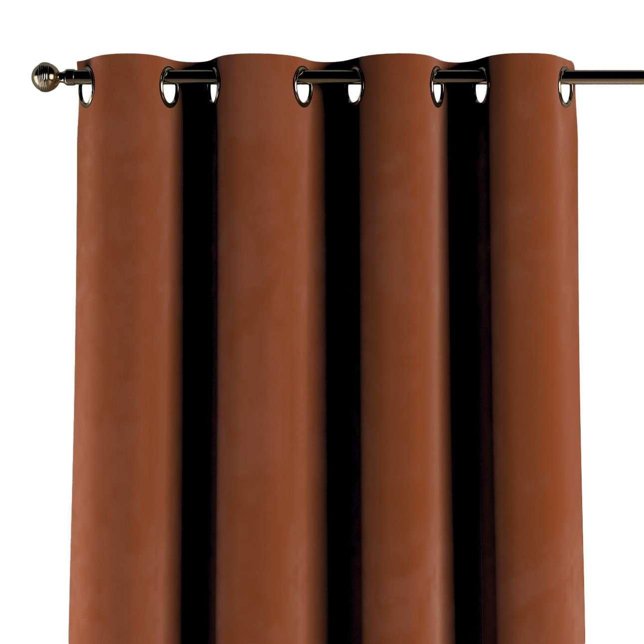 Zasłona na kółkach 1 szt. w kolekcji Velvet, tkanina: 704-33