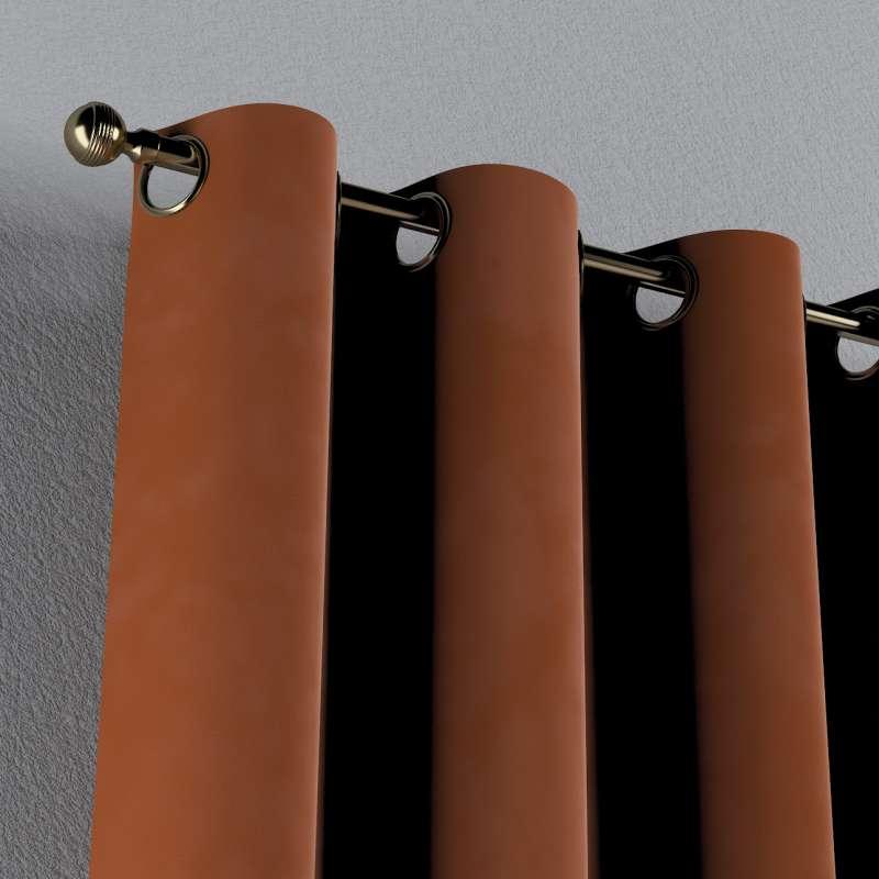Gardin med øskner 1 stk. fra kollektionen Velvet, Stof: 704-33