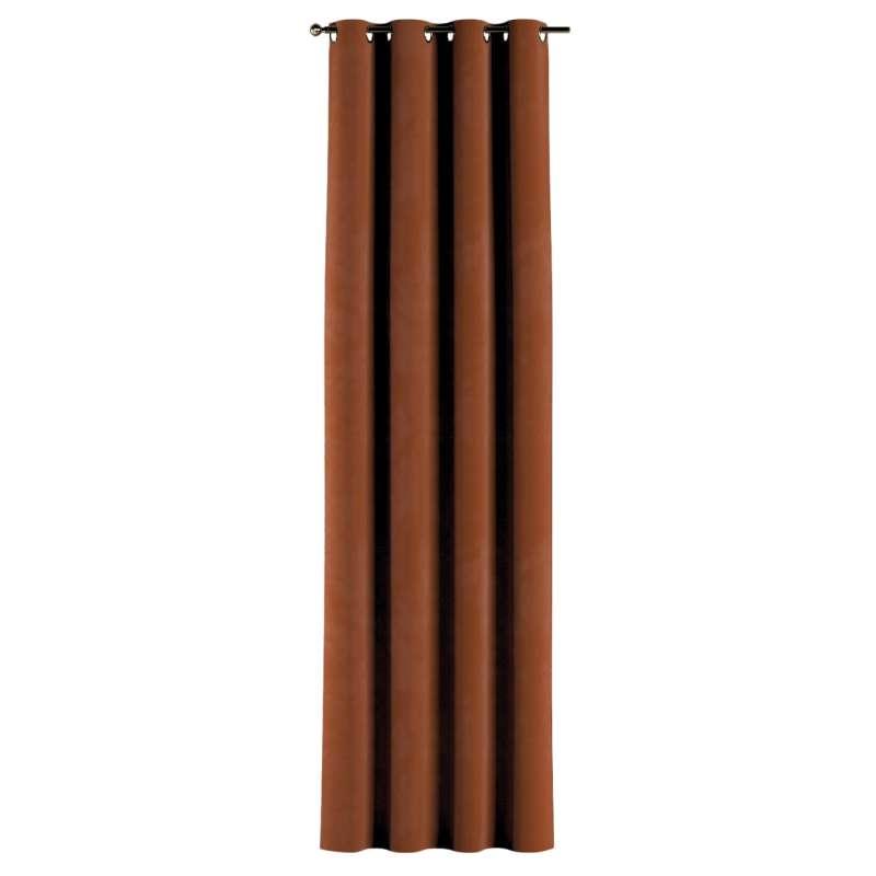 Gardin med öljetter 1 längd i kollektionen Velvet, Tyg: 704-33