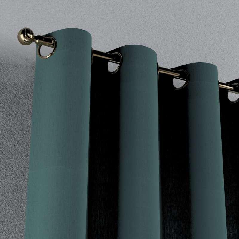 Žiedinio klostavimo užuolaidos 1 vnt. kolekcijoje Nature -100% linas, audinys: 159-09