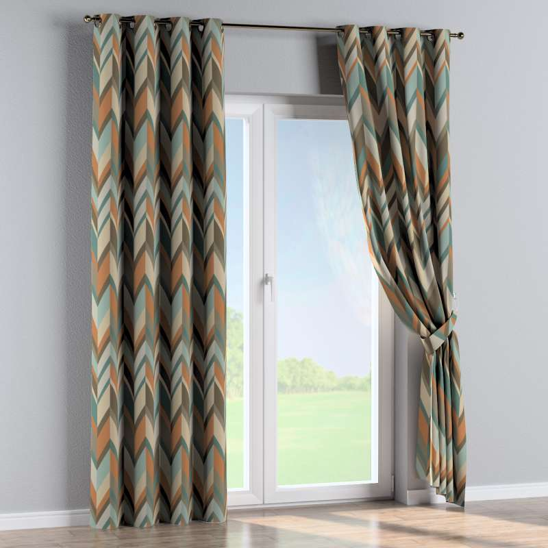 Eyelet curtain in collection Vintage 70's, fabric: 143-62