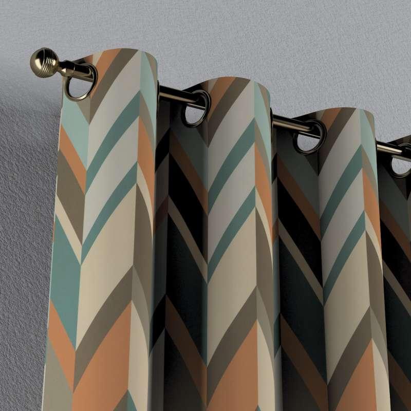 Gardin med maljer 1 stk. fra kolleksjonen Vintage 70's, Stoffets bredde: 143-62