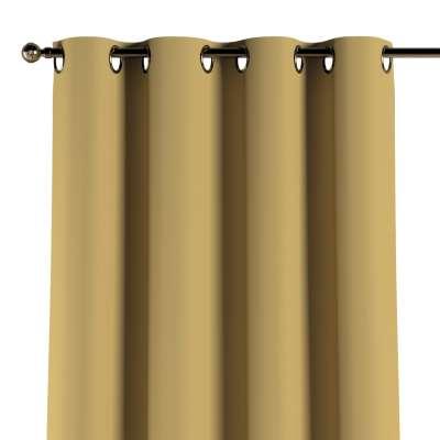 Zasłona na kółkach 1 szt. 702-41 zgaszony żółty Kolekcja Cotton Panama