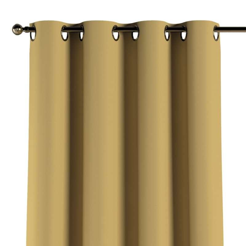 Gardin med öljetter 1 längd i kollektionen Panama Cotton, Tyg: 702-41