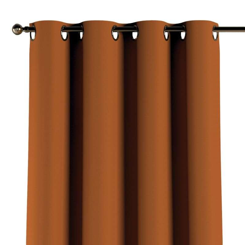 Gardin med öljetter 1 längd i kollektionen Panama Cotton, Tyg: 702-42