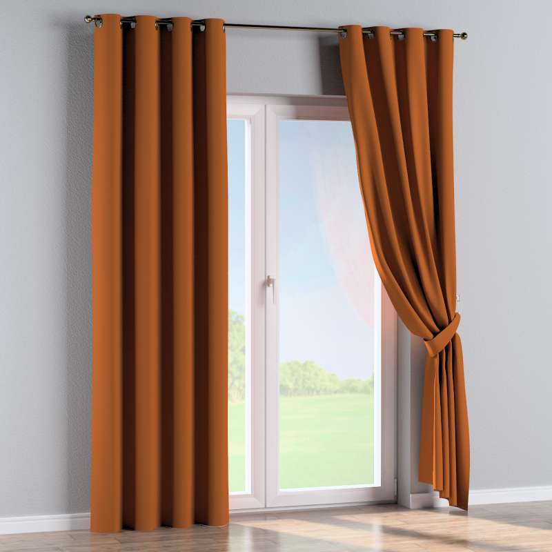 Eyelet curtain in collection Panama Cotton, fabric: 702-42